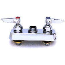 <strong>T&S Brass</strong> Centerset Bathroom Faucet with Double Handles