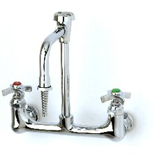 Sink Mixing Lab Faucets with Standard Rigid Gooseneck Spout