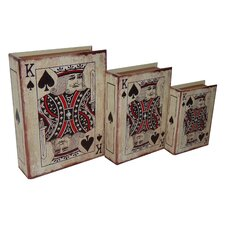 <strong>Cheungs</strong> 3 Piece Vinyl King of Spades Book Box Set
