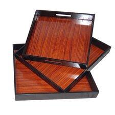 3 Piece Tray Set