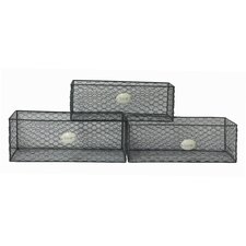 3 Piece Storage Tray Set