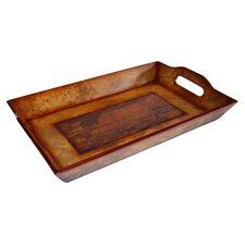 Marble Design Serving Tray in Brown