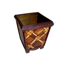 "5"" Square Planter in Brown"