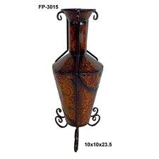 Metal Tall Vase