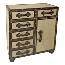 Wooden 6 Drawer Cabinet
