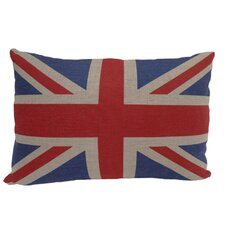 Union Jack Rectangular Flag Pillow