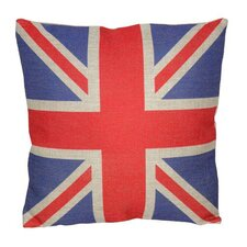 Union Jack Linen Pillow