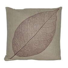 Leaf Linen Pillow