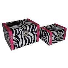 Zebra Box (Set of 2)
