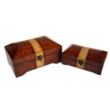 Two Piece Treasure Chest Set