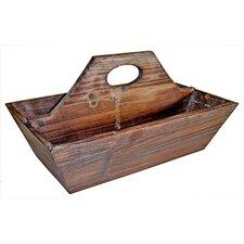 Wooden Garden 2 Slot Tool Box