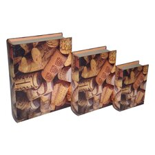 <strong>Cheungs</strong> Cork Book Box (Set of 3)