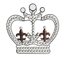 Crown with Pearls Wall Décor