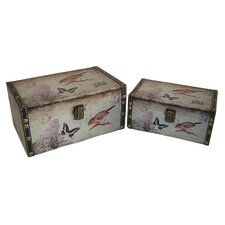 Bird and Butterfly Box (Set of 2)
