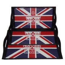 Union Jack Tray (Set of 3)