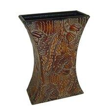 Metal Hourglass Vase