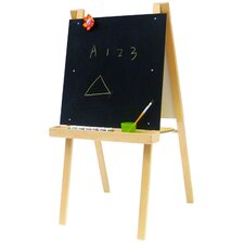 <strong>A+ Child Supply</strong> Economy Art Easel with Black / Dry Erase Board