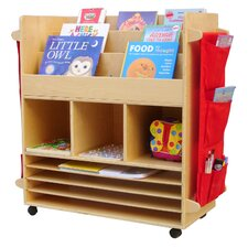 "Big 44"" Book Cart"