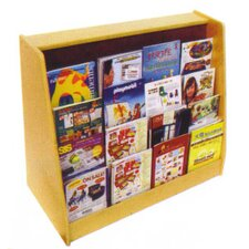 Book Display with Easel and Shelf