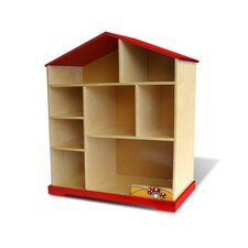 "Little Red House 41.8"" Bookshelf"