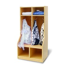 Toddler 2-Section Coat Locker