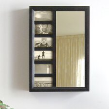<strong>Proman Products</strong> Bellissimo Wall Mounted Jewelry Armoire with Mirror