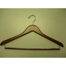Genesis Flat Suit Hanger with Lock Bar (Set of 50)