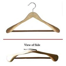 Libra Wide Shoulder Suit Hangers (Set of 12)