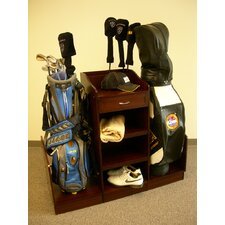 <strong>Proman Products</strong> Eagle Golf Bag Caddy in Walnut