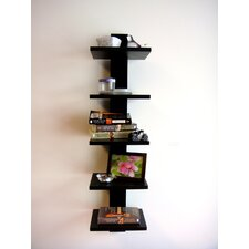 Spine Wall Book Shelf