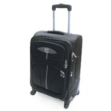 "<strong>Oleg Cassini</strong> Lightweight 21"" Expandable Spinner Suitcase"