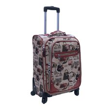 "Hats Off 20"" Expandable Spinner Suitcase"