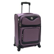 "<strong>Oleg Cassini</strong> Estate 20"" Expandable Spinner Suitcase"