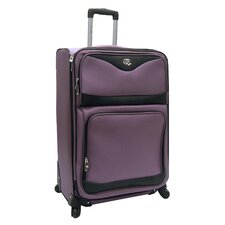 "<strong>Oleg Cassini</strong> Estate 28"" Expandable Spinner Suitcase"