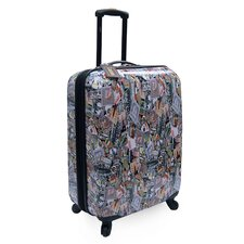 "Lucas World Tour 24"" Expandable Spinner Suitcase"