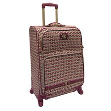 "Monte Carlo 24"" Expandable Spinner Suitcase"