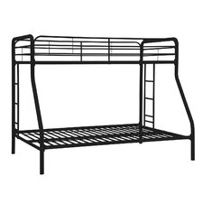 Twin Over Full Bunk Bed with Built in Ladder II