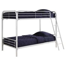 Twin Bunk Bed with Built in Ladder I