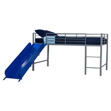 Junior Twin Loft Bed with Ladder & Slide