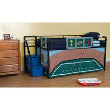 Football Stadium Curtain Set for Junior Loft Bed