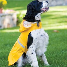 Seattle Slicker Dog Raincoat in Yellow