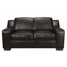 Mac Leather Loveseat