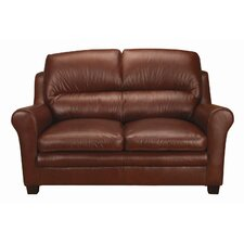 Markdale Leather Loveseat
