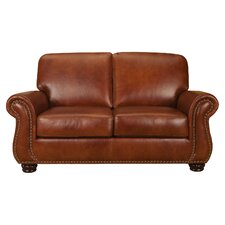 Mackenzie Leather Loveseat
