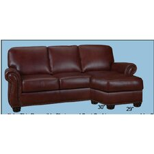 Mackenzie Leather Sectional