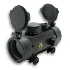 1x30 B-Style Red Dot Sight with Weaver Base in Black