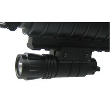 Pistol and Rifle LED Flashlight with Weaver Mount