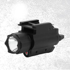 <strong>NcSTAR</strong> Tactical Red Laser Sight and LED Flashlight with Weaver Quick Release