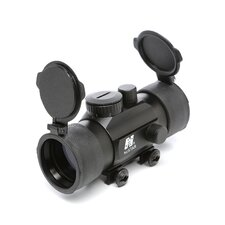 1x45 T-Style Red Dot Sight with Weaver Base in Black