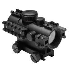 3 Rail Red / Green / Blue Dot Sight with Weaver Mount